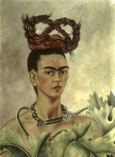 Frida Kahlo, la grande mostra a Roma e Genova Frida Kahlo. Autoritratto con treccia, 1941. Olio su tela, cm 51 x 38,5. The Jacques and Natasha Gelman Collection of 20th Century Mexican Art and The Vergel Foundation, Cuernavaca © Banco de México Diego Rivera & Frida Kahlo Museums Trust, México D.F. by SIAE 2014