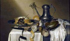 The Truffle Pie by Maerten Boelema de Stomme Oil On Canvas, Canvas Prints, Canvas Paintings, Grand Palais, Still Life Art, Small Plates, Truffles, Photo Wall Art, Fine Art