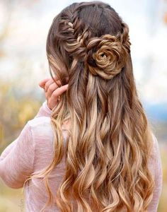 Try our 18 best rose hairstyles ideas for long hair and find that really suits you ❤ Collection of rose hairstyles presented in our photo gallery will not leave you indifferent ❤ Also, we represent a great video with additional hairstyles ideas for your inspiration ❤ See more at LadyLife