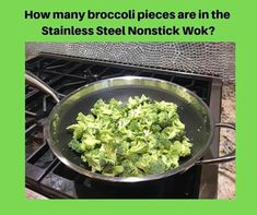 Pampered Chef, Wok, Guacamole, Sprouts, Broccoli, Mexican, Vegetables, Ethnic Recipes, Games