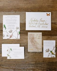 Beautiful Wedding Invitations - visit My Best Friends Wedding: ideas and inspiration for wedding invitations, save the date cards, stationary, place cards, menus, and wedding programs. See www.my-best-friends-wedding.com for more dream wedding inspiration & ideas
