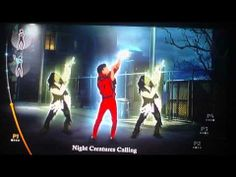 Michael Jackson The Experience (Wii): Thriller Gameplay (On Screen)