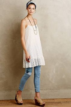 Dotted Lace Slip