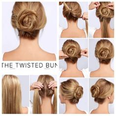 The twisted buned