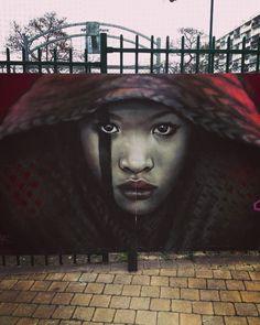 Las guerreras de Alex Mac H3 conquistan las calles de Europa. #streetart #mural #beauty #women by alternopolis