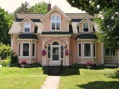 Mahone Bay, Nova Scotia, I just love all the quaint homes along the sea.