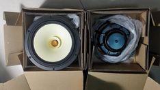 pair  Melo david davidlouis audio HiEND 8nch fullrange speaker  tube sounds 97db  neo magnet PK lowther
