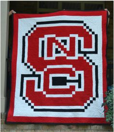 North Carolina State University Quilt  ©Rebecca Aranyi | rebeccaaranyi.com