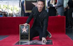 David Duchovny honored with star on the Hollywood Walk of Fame held on January 25, 2016 in Hollywood, California.