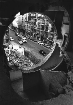 Conical Intersect, Gordon Matta-Clark [1975]