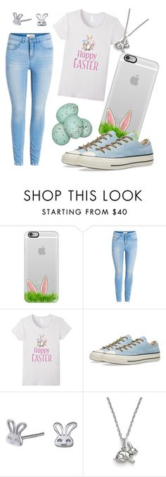 """""""Easter!!"""" by kcschnak ❤ liked on Polyvore featuring Casetify, Converse, Left Right Accessory and GreenGate"""