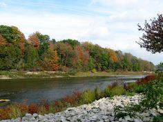 Fall Colours, Springbank Park London Ontario