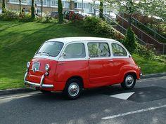 Fiat 600 MPV (Celebrating 60 Years 1952-2012)