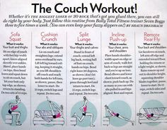 couch workout!