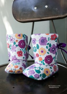 Reese Baby Boots PDF Pattern
