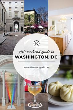 The Everygirl's Weekend City Guide to Washington, DC #theeverygirl
