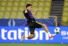 Eden Hazard in action — Estadio Luis II.