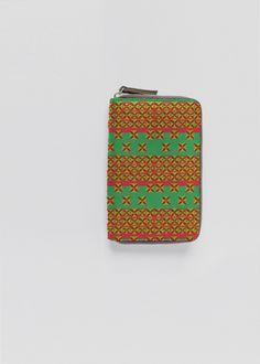 Leather Passport Case - Retro exotic jungle by VIDA VIDA 0pmwE