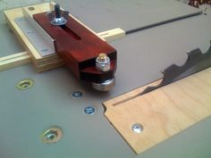Thin strip table saw jig - by FreddyS @ LumberJocks.com ~ woodworking community