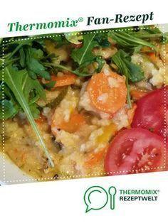 Gemüserisotto lecker und gesund von sonjathermo. Ein Thermomix ® Rezept aus der Kategorie Hauptgerichte mit Gemüse auf www.rezeptwelt.de, der Thermomix ® Community.