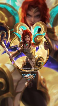 Wallpaper Phone Hilda Zodiak Aries by FachriFHR on DeviantArt Aries Wallpaper, Mobile Legend Wallpaper, Zodiak Aries, Miya Mobile Legends, Moba Legends, The Legend Of Heroes, Games Images, Art Reference, Avengers