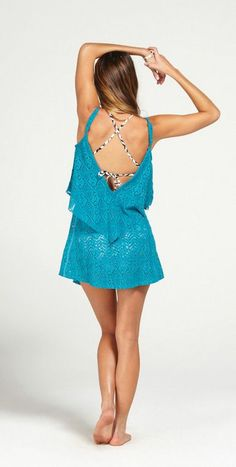 81d664198394a ROXY Coastal Switch Cover Up (available in white too!)… Bikini Fashion