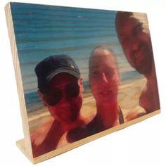 Foto impresión en una sola pieza de madera (29cm x 20cm) | CraftAndDeco.com