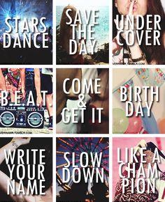 Selena's songs