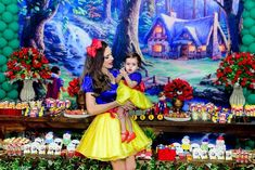 Carnival Birthday Parties, First Birthday Parties, Birthday Party Themes, Girl First Birthday, Baby Birthday, Baby Snow White, Snow White Photos, Disney Princess Babies, Fiesta Outfit