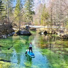 Explore your surroundings. Paddle To The Sea, Board Skateboard, Sup Stand Up Paddle, Bohinj, Inflatable Paddle Board, Julian Alps, Snowboard Girl, Standup Paddle Board, Sup Surf