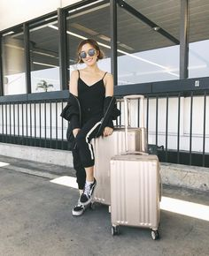 """Gefällt 84.8 Tsd. Mal, 239 Kommentare - Jenn Im 💓 임도희 (@imjennim) auf Instagram: """"San Francisco, I'm coming for you! Stoked to roam around my old stomping grounds. • Luggage by…"""""""
