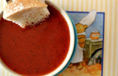 House Vegan: Tomato Soup from The Winnie the Pooh Cookbook
