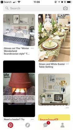 Easter Table Settings, Spare Room, Scandinavian Style, Clay, Candles, Table Decorations, Home Decor, Clays, Decoration Home