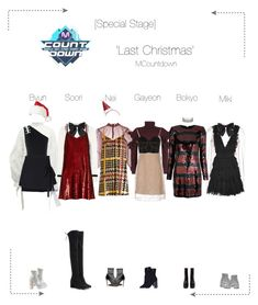 """""""Lunar (루나) [Special Stage]  'Last Christmas' MCountdown"""" by lunar-official ❤ liked on Polyvore featuring Christopher Kane, Stuart Weitzman, Philosophy di Lorenzo Serafini, Ashish, Versus, Versace, Daizy Shely, Gianvito Rossi, Yves Saint Laurent and Veronica Beard"""