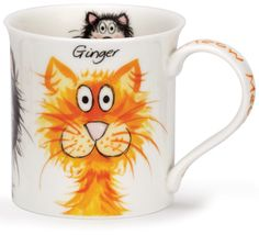 Ooh! Customized mugs with ur cat as a cartoon like this,and their name. Thatd be cool.