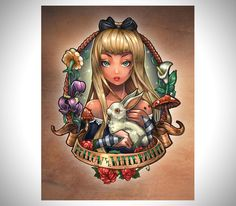 Disney Princesses As Tattooed Pinup Girl Tattoos