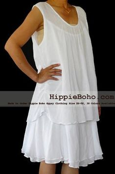 23 Desirable white gauze dress plus size images | Plus size bohemian ...