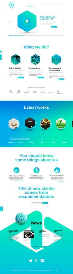 4dmind Website on Behance