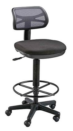 Alvin Griffin Black Drafting Height Chair           $ 114.08 Office Drafting Chairs Product Features Comfortable and airy nylon mesh back is 16″w x 8″h. Color: Black. Shipping Weight 30 lbs. Shipping Dimensions 26.60 x 24 x 9.30 inches. Country of Origin TW. Office Drafting Chairs Product Description Uniquely-styled mesh back drafting chair at an affordable price. Includes pneumatic height control with an […]  http://www.bigofficefurniture.com/alvin-griffin-black-drafting-h..