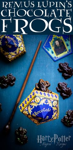 My Muggle-version of chocolate frogs may not be charmed, but they'll certainly wake up your tastebuds. Healthy Desserts For Kids, Homemade Desserts, Fun Desserts, Dessert Recipes, Chocolate Frogs Harry Potter, Hogwarts, Chef Blog, Harry Potter Food, Candy Cakes