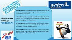 Writers.ae: How to write SEO Content...follow us at http://wri...