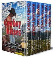 Susan's 2018 Reading Blog: Cowboy Kisses - Cindi Myers, RaeAnne Hadley, Diane J. Reed, Autumn Piper, D'Ann Linden, Ann Anders (Self published - Feb 2018)