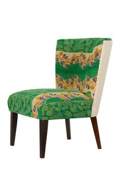 One of a Kind Vintage Kantha Blanket Large Accent Chair by ACG GREEN GROUP on @HauteLook