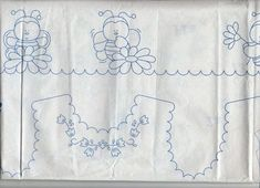 Gallery.ru / Фото #97 - disegni ricamo - antonellag Tambour Embroidery, Baby Embroidery, Vintage Embroidery, Ribbon Embroidery, Cross Stitch Embroidery, Embroidery Patterns, Baby Clothes Patterns, Sewing Patterns Free, Baby Patterns