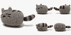 If you love cats or a fan of Pusheen the cat.  You'll love this amigurumi pattern by I Crochet Things.