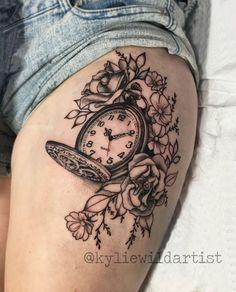 Bildergebnis für flower and lace tattoo