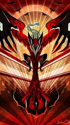 Yveltal legendary Pokemon of the sixth generation, Pokemon type Sinister Volad . - Nagel Kunst - Yveltal legendary sixth generation Pokemon, Pokemon type Sinister Volad … – - Pokemon Rayquaza, Pokemon Mew, Mega Pokemon, Type Pokemon, Pokemon Fan Art, Pokemon Fusion, Charizard, Pokemon Stuff, Lugia