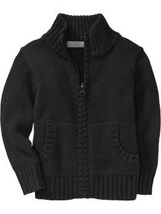mock-neck zip-front sweaters - I got something similar from h&m and love it