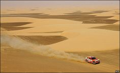 Debut en el Rally del Cairo