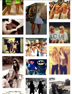 Cute bestfriend picture ideas!! I so doing most of these with my BFF! ♥✌❤